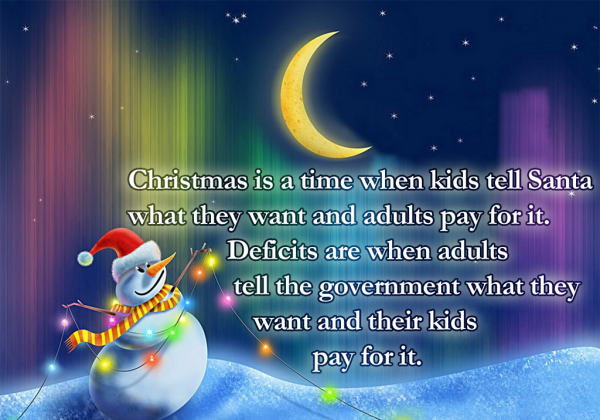 Christmas Is a Time When Kids Tell Santa What They Want