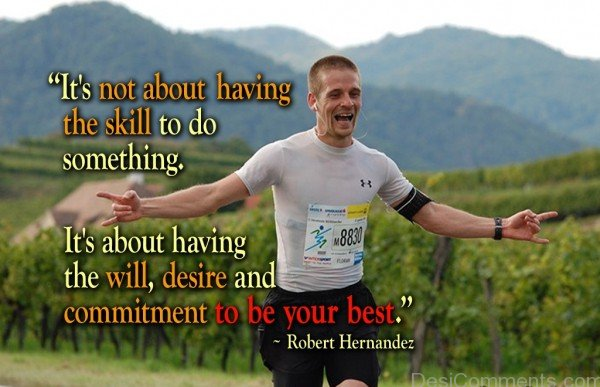 Commitment To Be Your Best