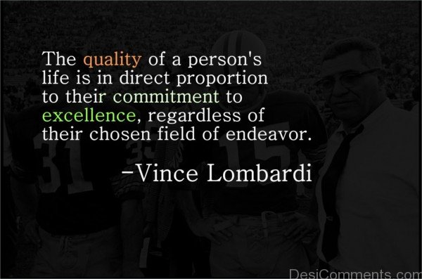 Commitment With Your Field