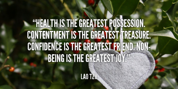 Contentment Is The Greatest Treasure