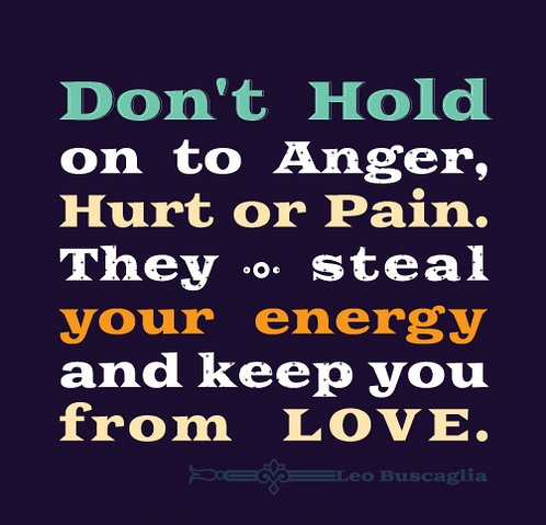 Don't Hold To Anger