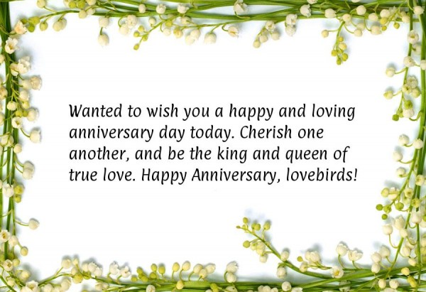 Happy and loving anniversary day today