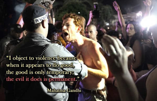 I Object To Violence Because When It appears To Do Good, The Good Is Only Temporary The Evil It Does Is Permanent