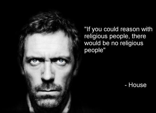 If you could reason with religious people