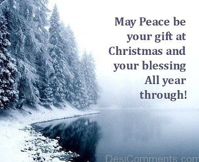 My Peace Be Your Gift At Christmas