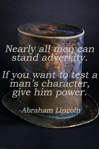 Nearly all men can standadversity