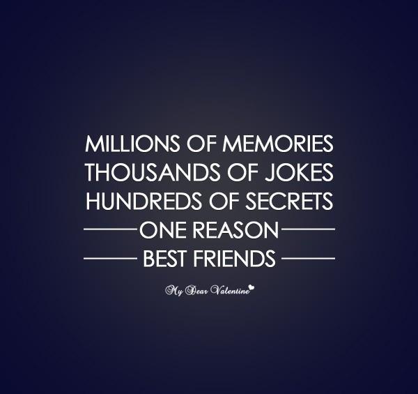 One Reason Best Friend