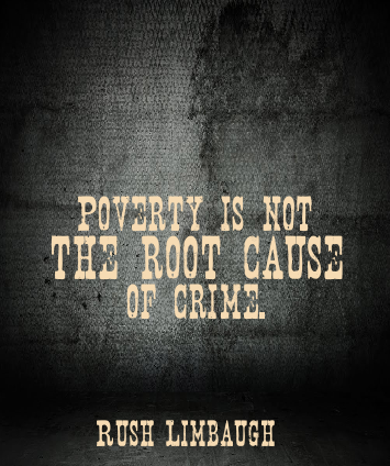 Poverty Is Not The Root Cause Of Crime