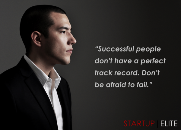 Successful people don't  have a perfect