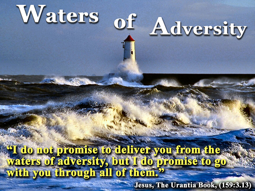 Water of adversity