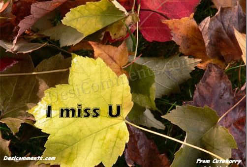 Picture: I am Missing you too much
