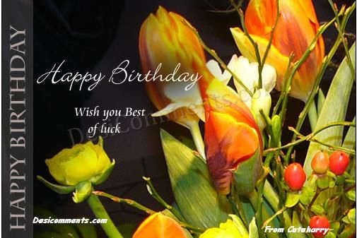 Wishing you happy birthday