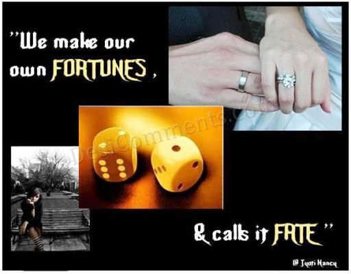 Picture: We make our own FORTUNES [SAD GIRL]
