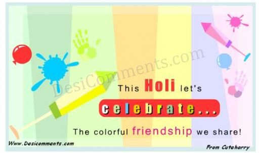 Best Wishes for Holi
