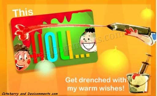Picture: Wishes for Holi