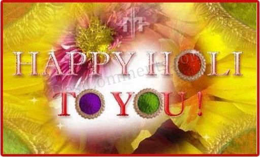 Picture: Happy Holi to you
