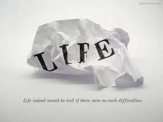 Difficulties Quotes Life Life Without Difficulties