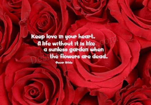 Picture: Keep love in your heart