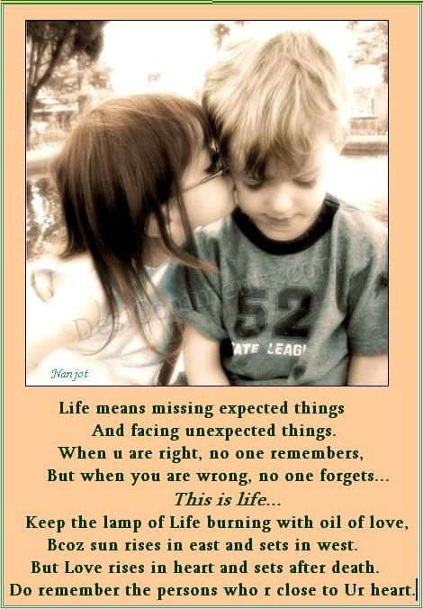 Life means..