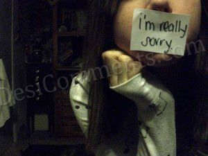 I m really sorry