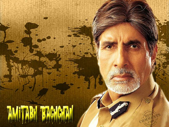 Amitabh Bachchan As Police Officer