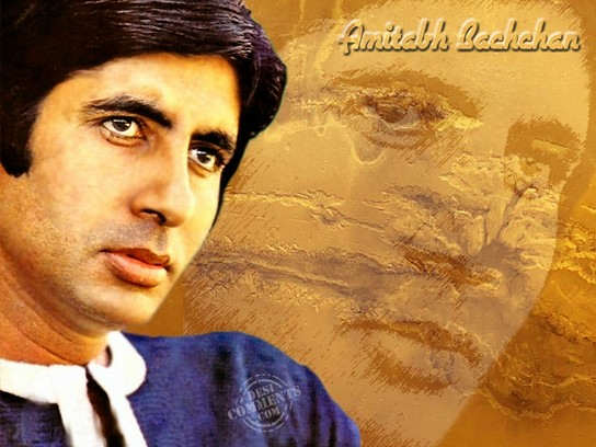 Handsome Amitabh