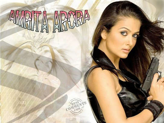 Actress Amrita Arora