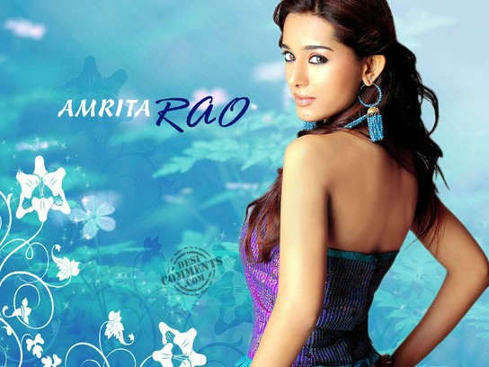 Beautiful Model Amrita Rao