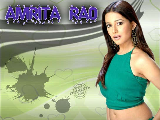 Beautiful Girl Amirta Rao