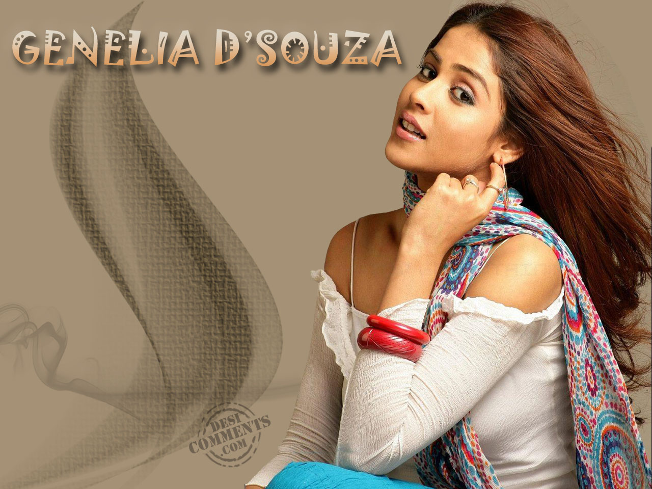 Genelia D Souza Wallpapers 30 Hd Pics: Impressive Beauty