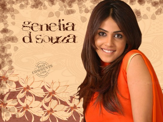 genelia d souza wallpapers. Sweet Genelia D#39;souza