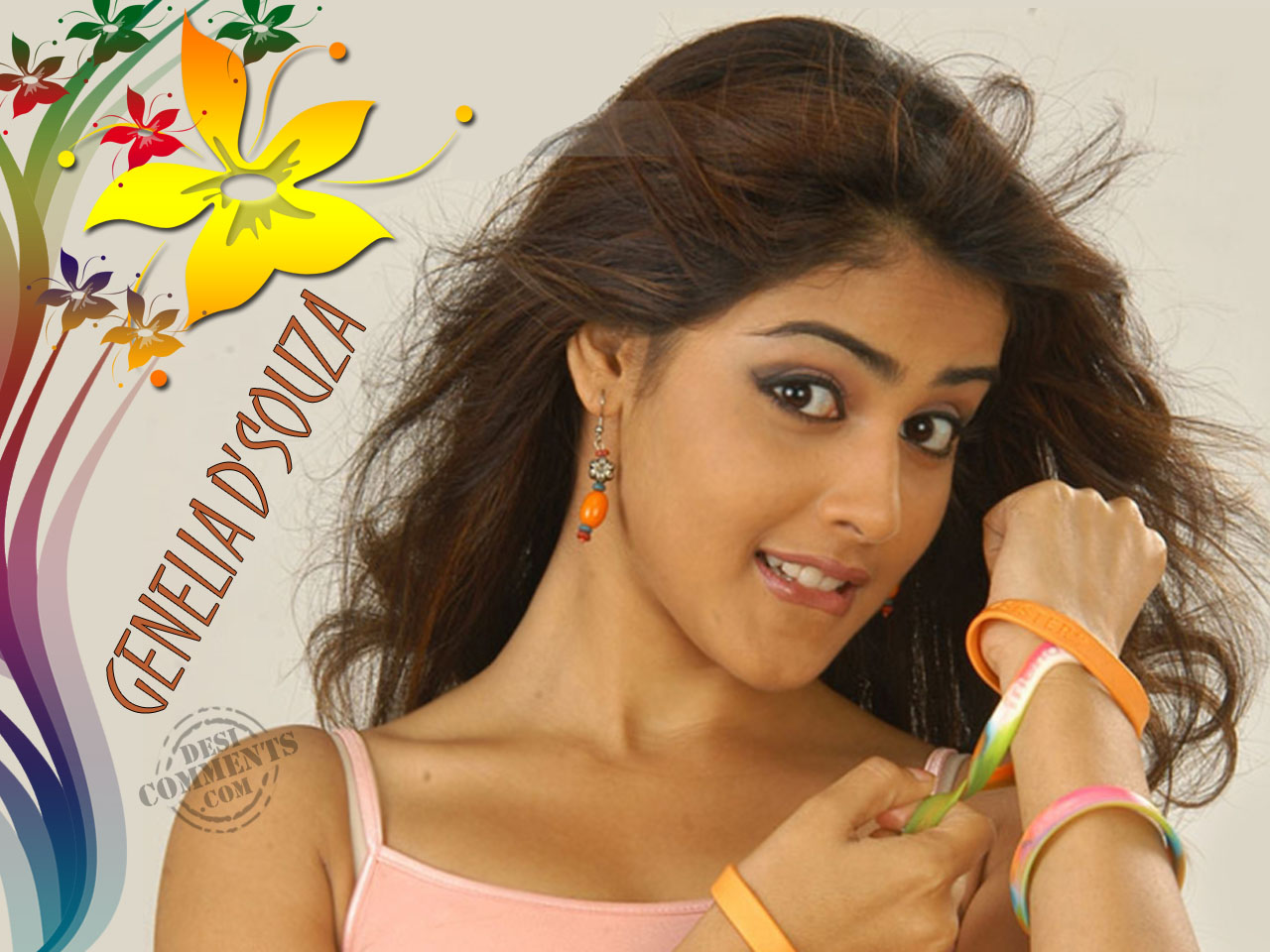 Cute Genelia Dsouza Wallpapers All Actress Group Bollywood And