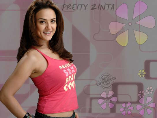 Pretty Girl - Preity Zinta