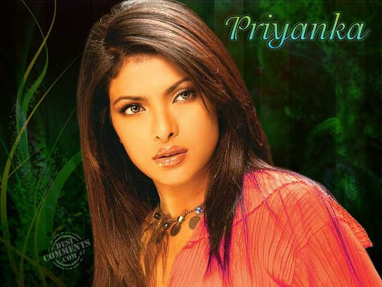 Priyanka Serious Look