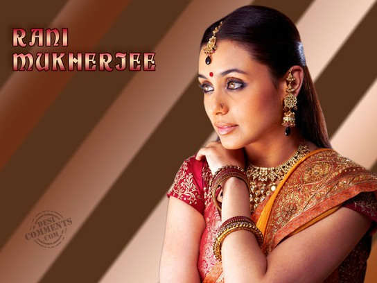 Rani In Traditional Look