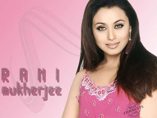 Smiling Face Rani Mukherjee