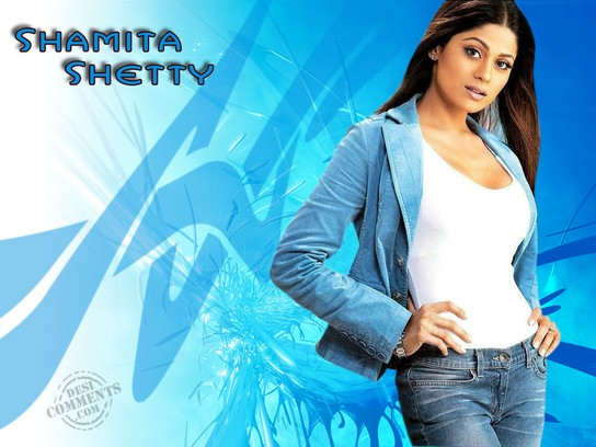 Hot Beauty Shamita Shetty