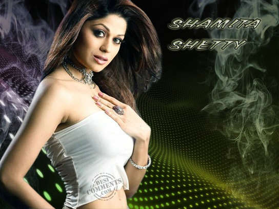 Good-looking - Shamita Shetty