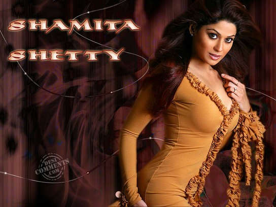 Beautiful Actress Shamita Shetty