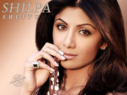 Indian Film Actress Shilpa Shetty