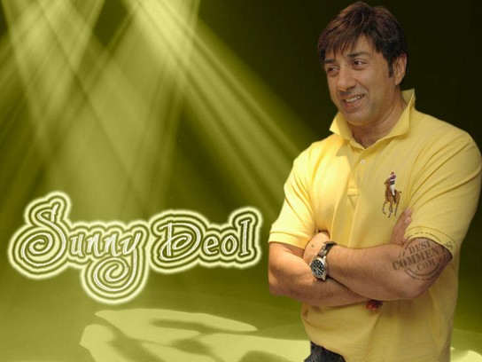 Smiling Face Sunny Deol