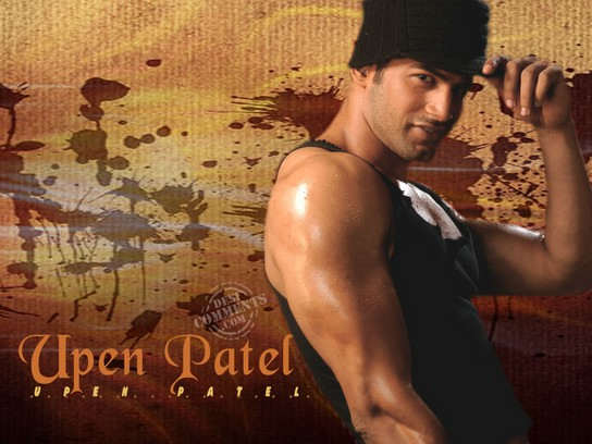 Showing Muscles - Upen Patel