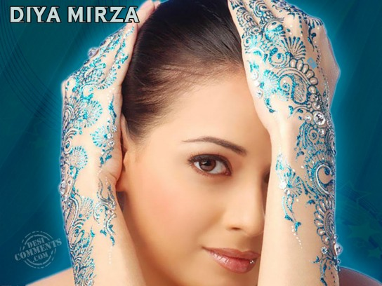 Bollywood Wallpapers Famous Actress Diya Mirza