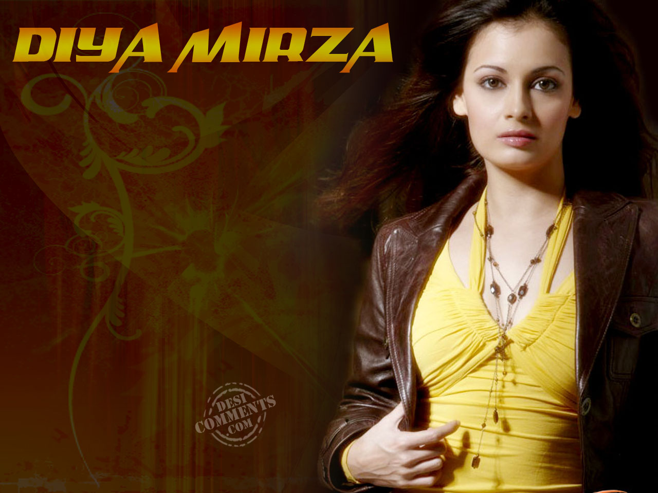 indian model – diya mirza - desicomments