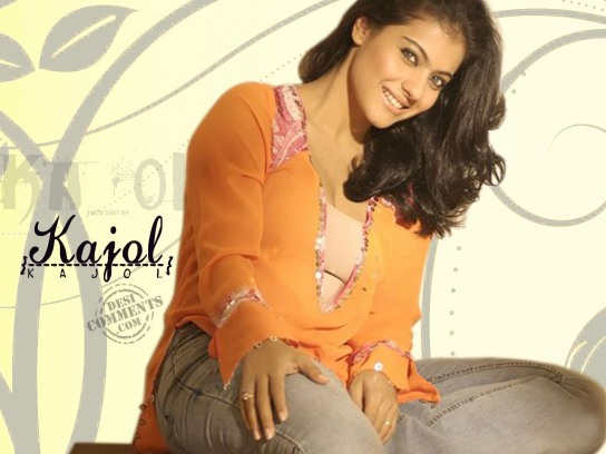 Bollywood Actress Kajol Wallpaper