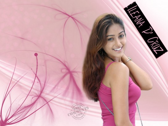 Smiling Face - Ileana D'Cruz