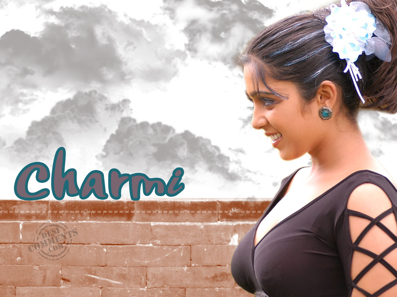 charmi wallpapers | south indian celebrities