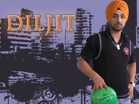 Diljit-Holding-Bowling Ball-Wallpaper-4