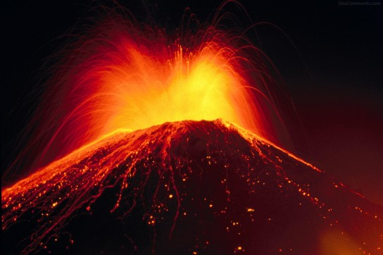 Great force of nature - Volcano