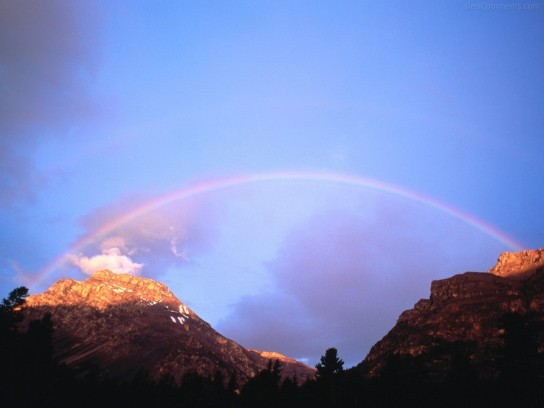 Montains Rainbow